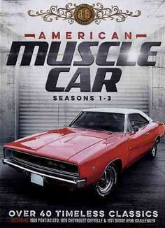 All three seasons of the documentary series American Muscle Car are collected in this set. Among the over three-dozen vehicles profiled are the 1969 Pontiac GTO, 1970 Chevrolet Chevelle and the 1971 D