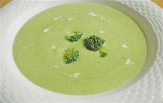 Sopa De Brócoli Y Parmesano Broccoli Recipes, Soup Recipes, Vegetarian Recipes, Brocoli Soup, Parmesan Soup, Recipe Mix, Detox Soup, Exotic Food, Appetizers