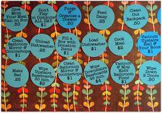 Dave Ramsey Kids Chore Chart A chore system motivating kids