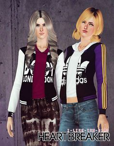The Sims 3 Female Clothes: Heartbreaker Jackets Custom Content Download