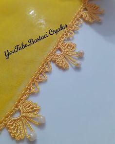 Crochet Border Patterns, Crochet Lace Edging, Filet Crochet, Crochet Designs, Tassels, Brooch, Gold Necklace, Jewelry, Crochet Fringe