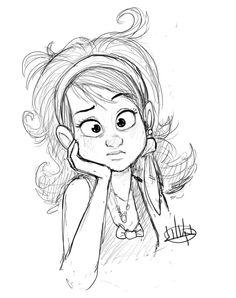 Recién levantada character inspiration рисунки, иллюстрации и графика. Cartoon Drawing Tutorial, Cartoon Girl Drawing, Drawing Tutorials, Character Design Cartoon, Character Design References, Character Drawing, Illustration Sketches, Drawing Sketches, Drawing Style