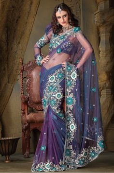 Fancy Trendy Designer Saree