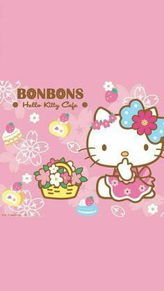 Kitty Cam, Hello Kitty Iphone Wallpaper, Hello Kitty My Melody, Easter Wallpaper, Hello Kitty Pictures, Easter Pictures, Sanrio Characters, Sanrio Hello Kitty, Diy For Kids