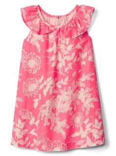 Toddler Girls' Dresses: party dresses, sweater dresses, jumpers, ruffle dresses at babyGap   Gap