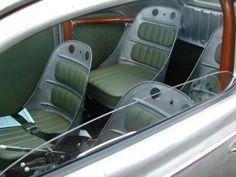 Looking good with bomber seats and door panels. Bomber Seats, Volkswagen, Sheet Metal Fabrication, Metal Shaping, Custom Car Interior, Automotive Decor, Automotive Furniture, Car Upholstery, Bucket Seats