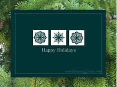 New Design!  Holiday Cards  Happy Holiday by JLOriginalDesigns on Etsy, $10.00
