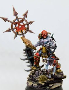 Who knew Khorne foll