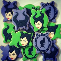 Maleficent cookies