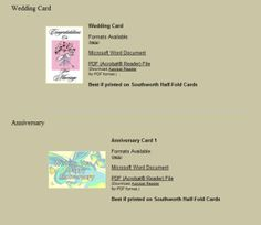 Want to Make Your Own Greeting Cards? Use These Free Templates: Southworth Greeting Card Templates