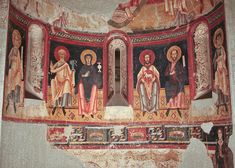 Romanesque art in Abbey of St Pere of Burgal, Catalonia, Spain.  Art Experience NYC  www.artexperiencenyc.com/social_login/?utm_source=pinterest_medium=pins_content=pinterest_pins_campaign=pinterest_initial