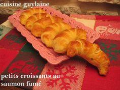 Petits croissants au saumon fumé | Cuisine-Guylaine
