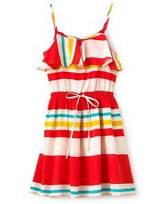 Juicy Couture Girls' Mini Fuji Stripe Dress - Sizes 2-6 - Girls 2-6X - Girls - Kids - Bloomingdale's