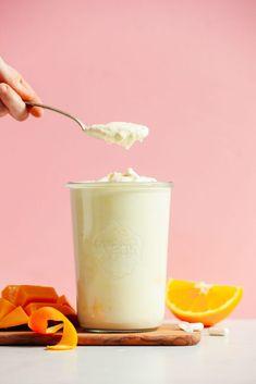 Vegan Mango Coconut Yogurt   Minimalist Baker Recipes