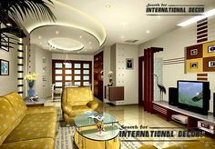 Exclusive catalog of pop design false ceiling for modern interior