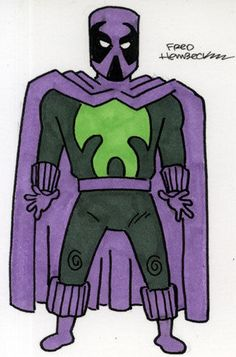 Fred Hembeck Color Sketch Card: The Prowler (Marvel)1/1