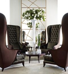 Love the style of these chairs