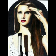 Lana Del Rey, Lápis de cor