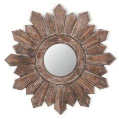 Kirklands, Poconos Wooden Wall Mirror, 122242