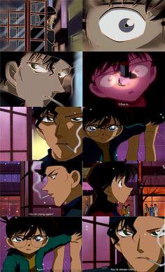 Broken Heart and Black Alarm Part 3 Episode 309 Shinichi Kudo, Conan Edogawa, Ran Mouri,  Shuichi Akai #DetectiveConan