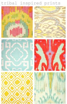 tribal inspired prints