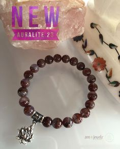 Exquisite rare top quality Auralite 23. Did you know this amazing healing crystal contains 23 different minerals? Auralite 23 is a stone of the new consciousness because of its high frequency and abundance of metaphysical properties. It is the stone of awakening on every level and also known as the kindred spirit crystal. Would you like to experience the energy of Auralite? Message me today! Auralite 23 | Healing crystal jewelry | zen jewelz | ZenJen