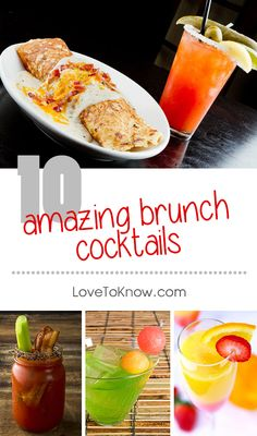 Every now and then, it's fun to plan a special breakfast that includes a few cocktails. Get ideas and recipes for classic breakfast cocktails, variations on old favorites, and a few cocktails that may be new to you! Brunch Drinks, Fun Drinks, Yummy Drinks, Healthy Drinks, Alcoholic Beverages, Mixed Drinks, Sweet Tea Recipes, Brunch Recipes, Summer Recipes