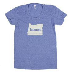 Oregon Home. Tshirt Womens Cut by HomeStateApparel on Etsy, $21.95