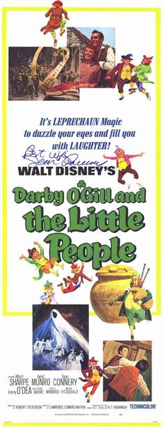Darby O'Gill and the Little People (1959) Musical