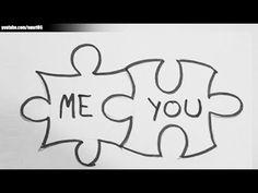 Love drawings for him. Love Drawings For Him, Easy Pictures To Draw, Cute Drawings Of Love, Drawings For Boyfriend, Sketches Of Love, Easy Drawings For Kids, Cool Drawings, Simple Drawings, Tumblr Drawings Easy
