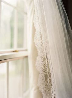 ~~~This lace edged curtain is perfection~~~