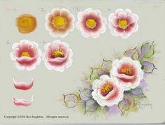 craftinhouse: Tutorial : Folk art (roses)