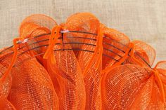 How to Make deco mesh wreaths | Miss Kopy Kat: How To Make A Deco Mesh Pumpkin