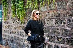 The Olivia Palermo Lookbook : Olivia Palermo at Paris Fashion Week : Look 3