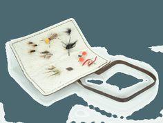 Rustico Book of Flies Open