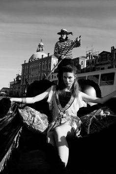 Viktorija by Santiago Ruisenor for Elle Mexico