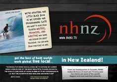 Megan Berg Designs - NHNZ Recruitment Campaign Little Black Books, Writer, Campaign, Web Design, Writers, Website Designs, Site Design