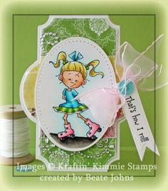 Beate Johns/fresh & fun/Kraftin Kittie Stamps