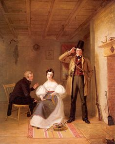"""The Sportsman's Last Visit"" (William Sydney Mount, 1835)"