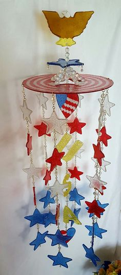 Hey, I found this really awesome Etsy listing at https://www.etsy.com/listing/384354268/melted-pony-bead-usa-windchimered-white