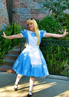Alice in Disneyland