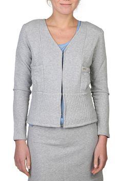 Chloe Jacket In Gray