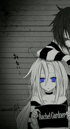 Manga Anime, Anime Nerd, Cute Wallpaper For Phone, Couple Wallpaper, Anime Love Couple, Cute Anime Couples, Couples Images, Satsuriku No Tenshi, Matching Profile Pictures