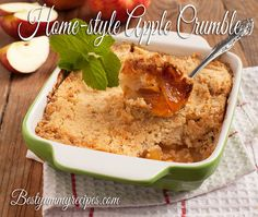 Home-style Apple Crumble