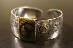 *The Josephine Bracelet -  Made with a piece of WWII Army uniforms can't wait to get this!!!! :)