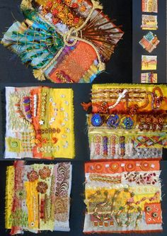 embroidery - inspired by Effie Mitrofanis