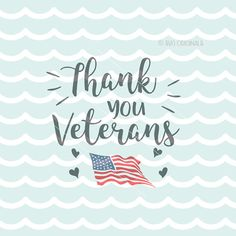 Veterans Day SVG Cricut Explore & more. Cut or Print! Thank You Veterans! For all you do! SVG #ad
