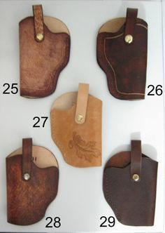 Leather Gun Holsters Ultra Small to Large Caliber Handguns image 4 Xds 45 Holster, Holsters, Diy Camping, Knives And Swords, Vegetable Tanned Leather, Leather Tooling, Hand Guns, Etsy, Handmade Gifts