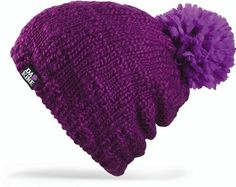"""Dakine Women's Alex Beanie (Plum, One Size Fits All) by Dakine. $23.92. The Dakine Women'S Alex Beanie Has An Oversized Pom. In Hawaiian Slang, """"Da Kine"""" Means The Best And The Company Has Lived Up To This Standard Through Attention To Detail, Focus On Accessories, And A Notoriously Thorough Design Process."""