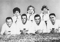 1960's cheerleaders
